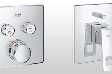 Sprchové podomítkové baterie