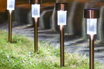 Zapichovací solární zahradní osvětlení