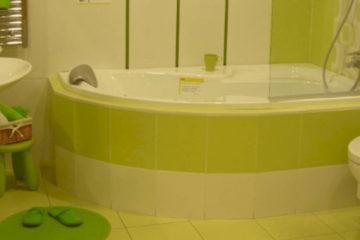 Asymetrické vany do malé koupelny