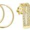 Zlaté náušnice kruhy