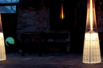 Plynové ohřívače (zářiče) na terasu