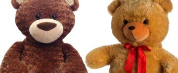 Velcí plyšoví medvědi