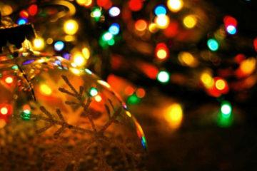 Vánoční světelné řetězy