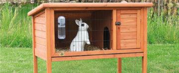 Dřevěné králíkárny