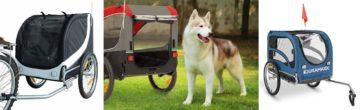 Přepravní vozíky za kolo pro psy