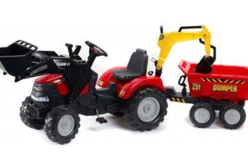 Šlapací traktory pro děti