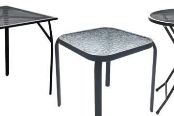Kovové zahradní stoly