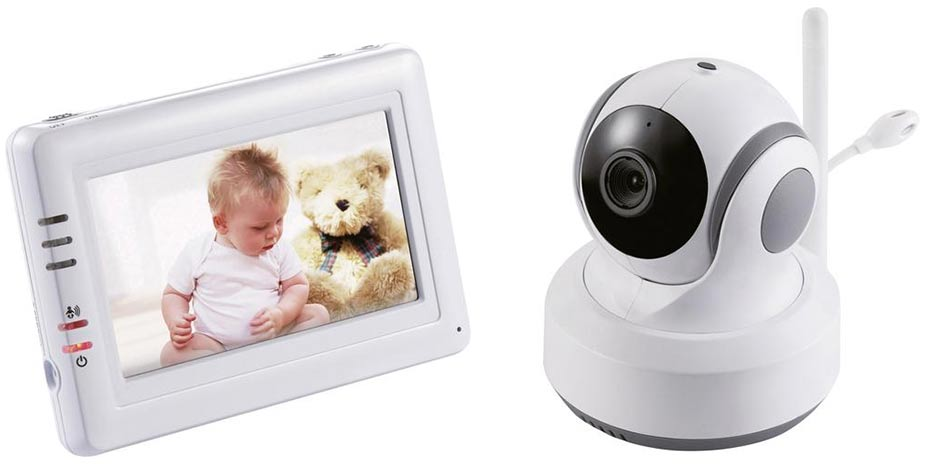 Dětská chůvička s kamerou a dotykovým displejem Switel BCF989