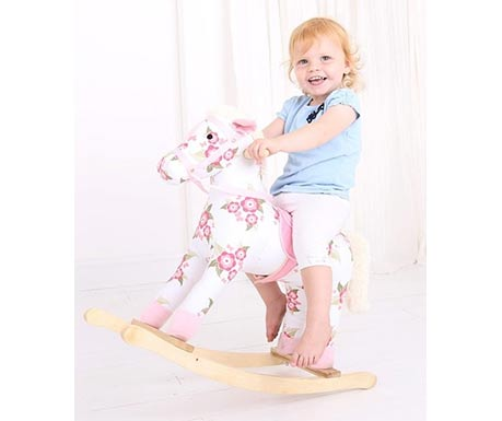 oupací koník pro dívky