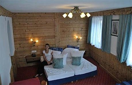 Pokoje v tyrolském stylu