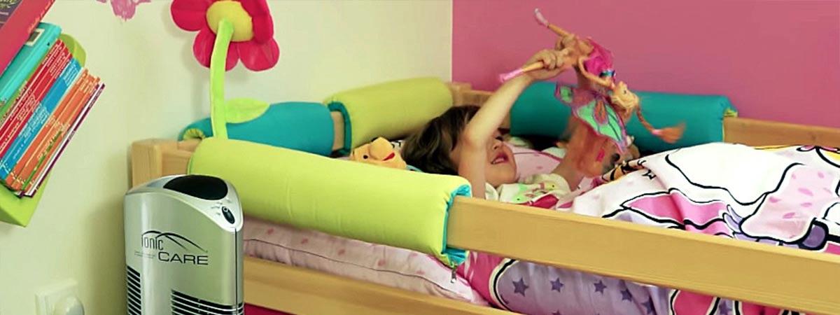 Zdravý vzduch v dětském pokojíčku