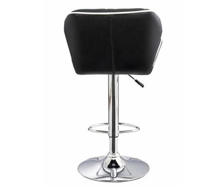 Barová židlička s polstrovaným sedákem