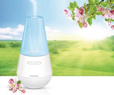 Aroma difuzér navodí příjemnou atmosféru