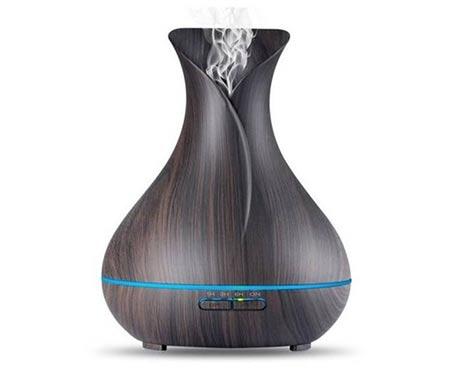 Difuzér Aromacare ultrazvukový TA-307, tmavé dřevo