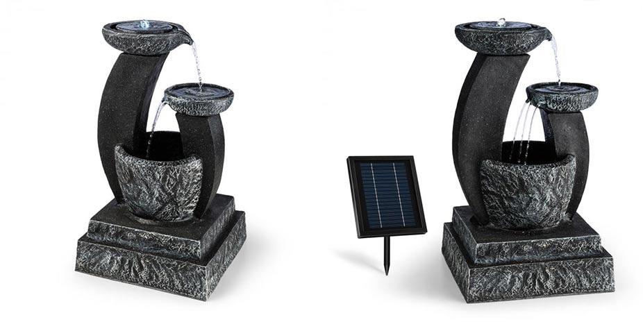 Okrasná solární zahradní fontána FANTAGHIRO