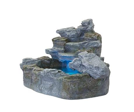 Kaskádová kašna z umělého kamene