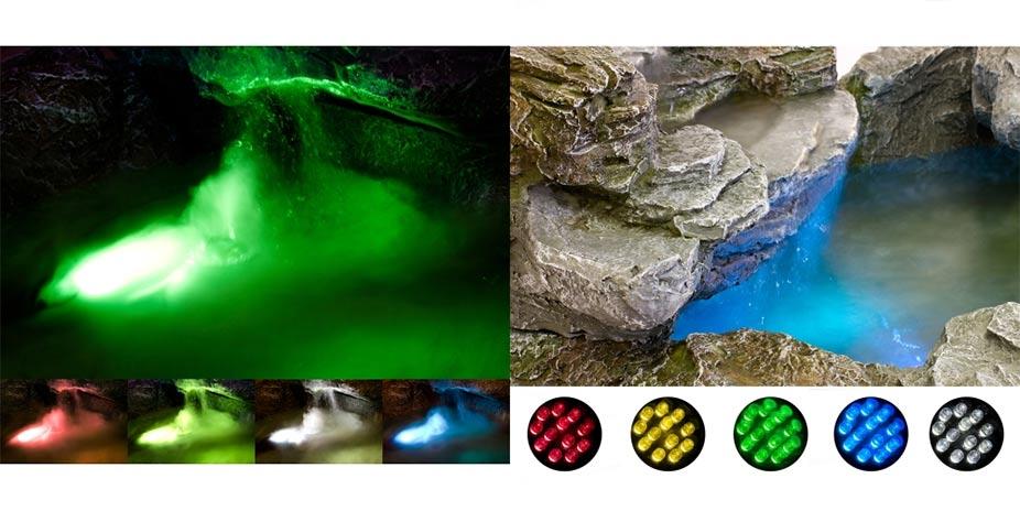 Vícebarevné LED osvětlení