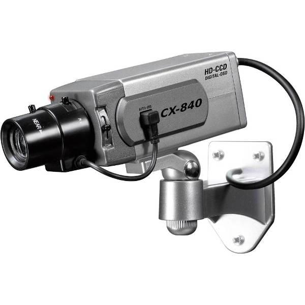Atrapa kamery s blikající LED diodou
