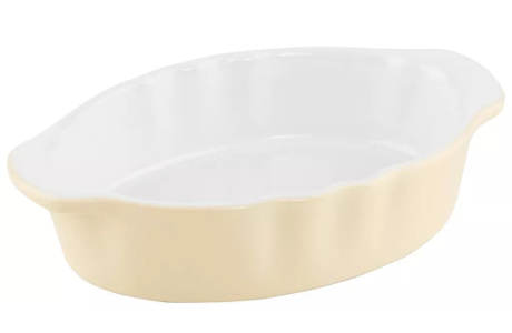 Ovalná keramická zapékací mísa