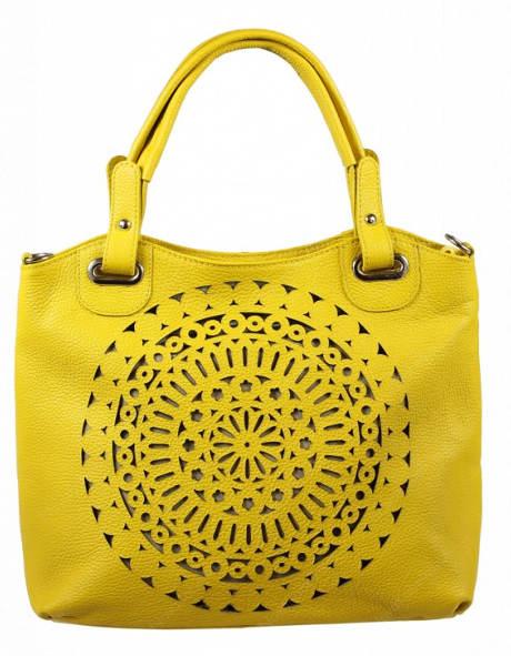 Žlutá kabelka Celina Gialla