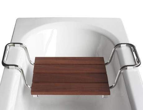 Sedátko do vany dřevěný vzhled