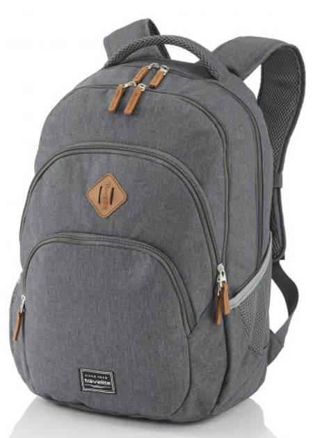 Šedý studentský batoh Travelite