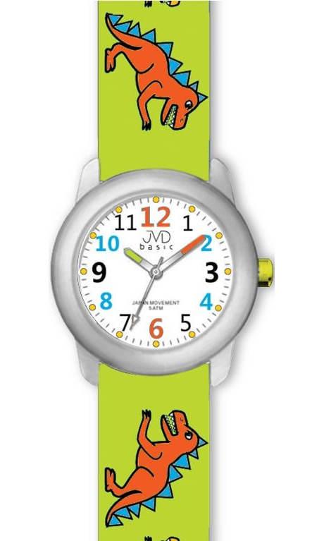 Dětské náramkové hodinky s dinosaury
