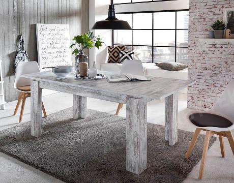 Rustikální rozkládací jídelní stůl