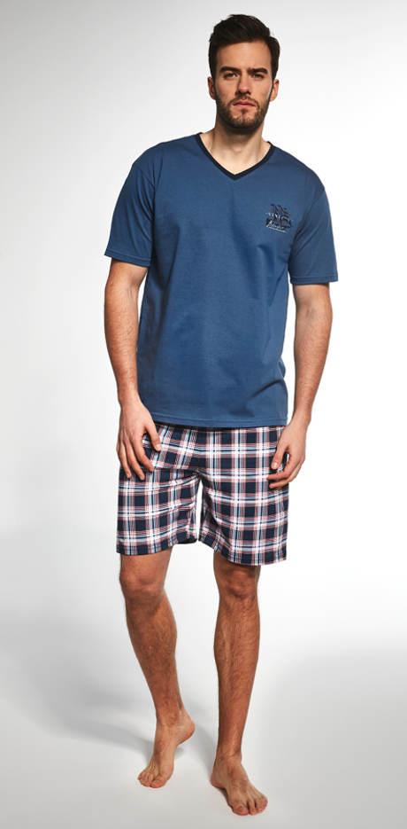Pánské šortkové pyžamo Cornette Sailing Ship