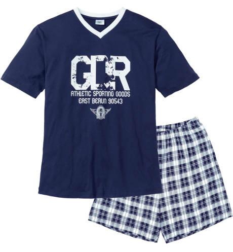 Krátké pánské letní pyžamo Bonprix