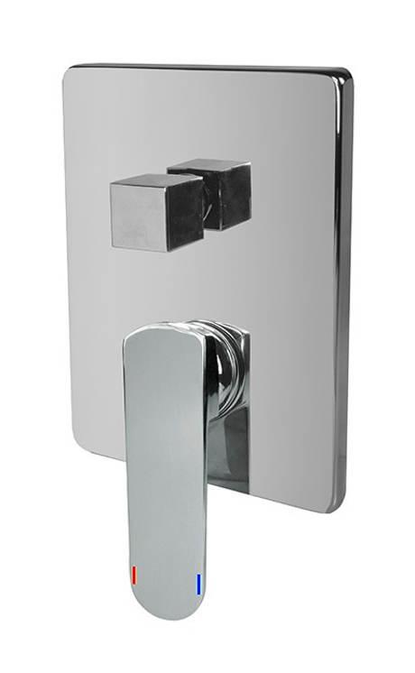 Sprchová podomítková baterie MEREO s přepínačem