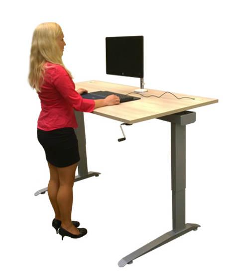 RUKONA výškově stavitelný stůl Traction II 160 × 80 cm