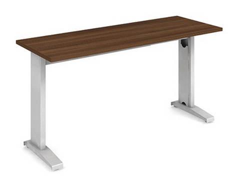 EXNER mechanicky výškově stavitelný stůl Exact XPV1 140 x 60 cm