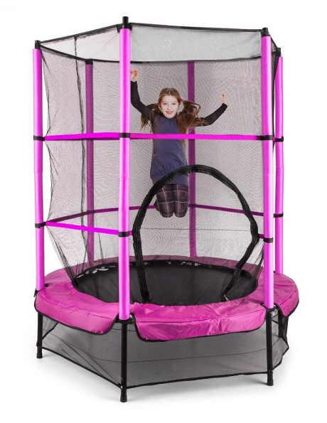 Dětská trampolína s bungee pružinami