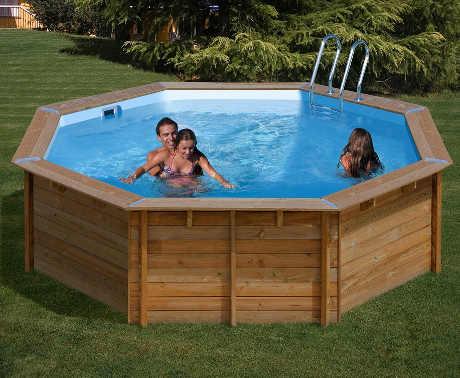 Bazén GRE Nature Wood 5,11 x 1,24m
