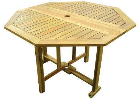 Zahradní stůl z tropického dřeva
