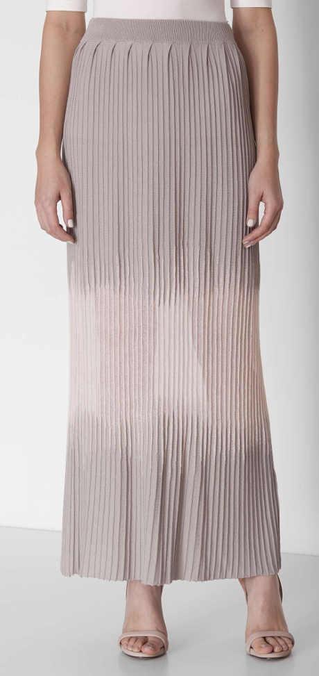 Dlouhá pletená sukně Pietro Filipi
