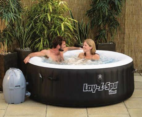 Vířivý bazén BESTWAY Lay-Z Spa - Whirpool s vyhříváním