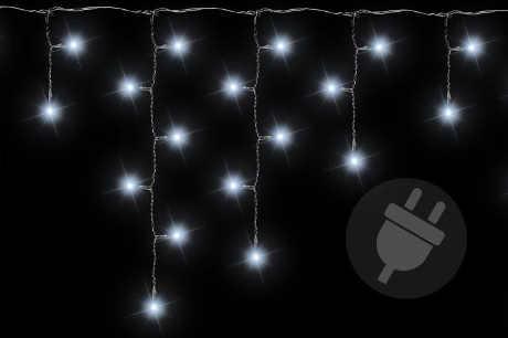 Studeně bílý vánoční světelný déšť 5 m 144 LED