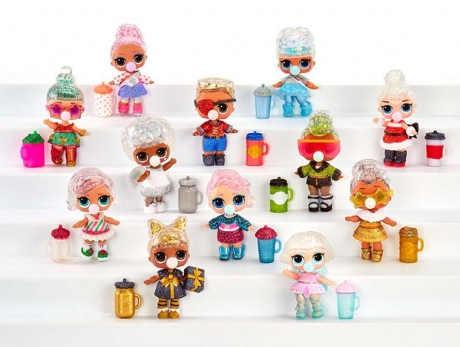 L.O.L. Surprise Zimní třpytková panenka